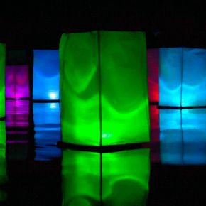 Color Floating Water Lanterns