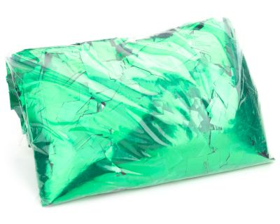 Green Mylar Confetti - 1 KG Bag