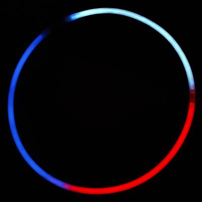 Red, White, & Blue Glow Necklace