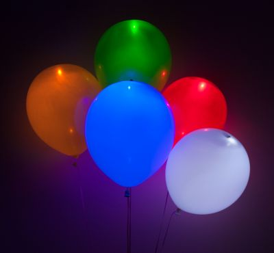 Assorted LED Balloons